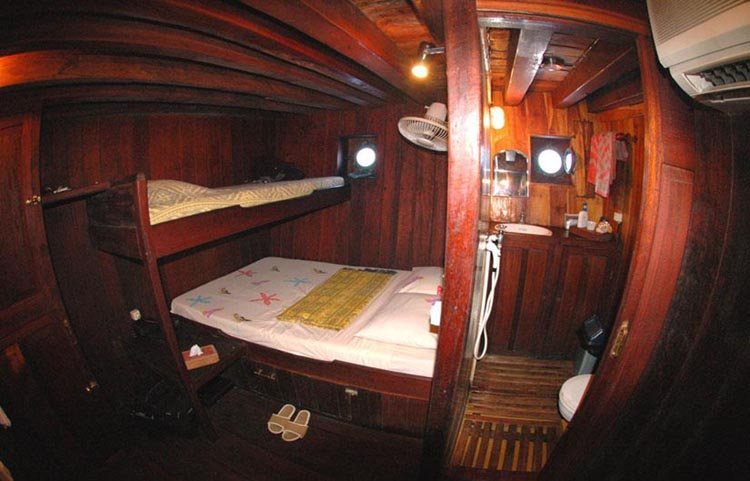 Ondina Double & Twin Cabin