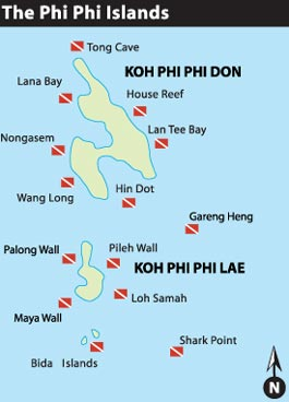 Phi Phi Islands Thailand Weather