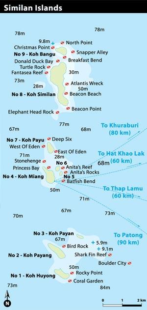 The Similan Islands Thailand Diving Sites Dive Deals Dive Deals